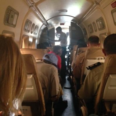 UN flight Goma - Kalemie