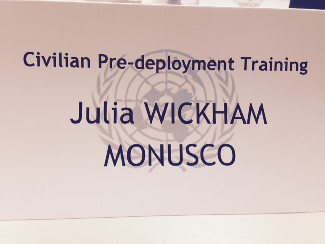 Julia WIckham MONUSCO
